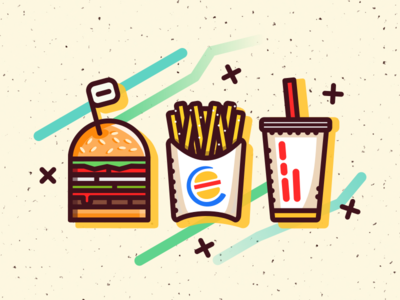 Impossible Whopper whopper illustration burgerking vegan burger impossible