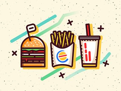 Impossible Whopper whopper illustration burgerking vegan burger impossible