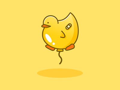 Ducky happy duck ducky balloon