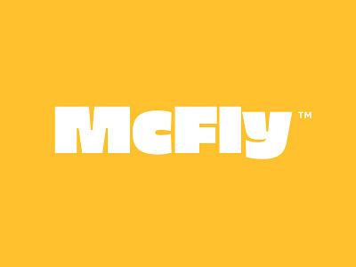 McFly bold font typography wordmark logo burger logo burguer logo designer logo design logo logos logotype restaurant logo restaurant branding identity designer identity design visual identity identity brand identity brand design branding brand