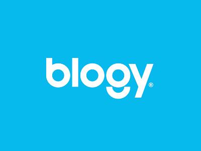 Blogy product design brand concept identity visual  identity brand design visual identity typography brand identity brand branding logos wordmark logotype logo design logo