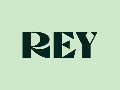 REY type design branding brand identity logo design logotype wordmark lettermark lettering hand lettering typogaphy