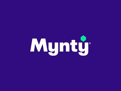 Mynty 2 logo designer gaming games lettering typography flat minimal wordmark logo design logotype logo visual identity identity designer identity design identity brand identity brand design branding brand
