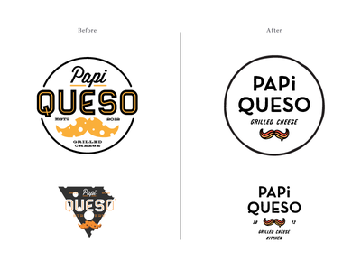 Papi Queso I typography print photography lettering graphic design collateral branding