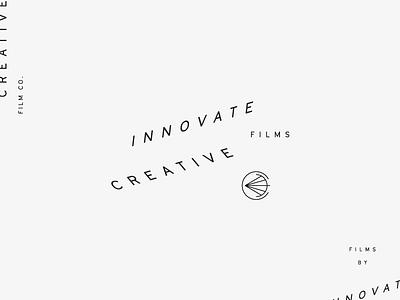 Innovate wip identity sub mark typography branding