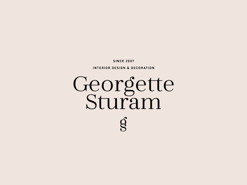 Since 2007 icon monogram interior design interior type brand identity submarks typography logo branding