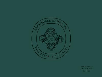 Kerrisdale wip snake seal identity sub mark branding