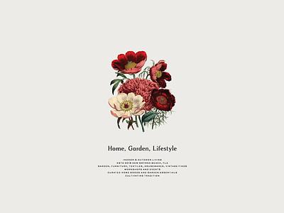 Est. 2018 typography illustration flowers botanical floral mark icon brand identity submarks logo branding