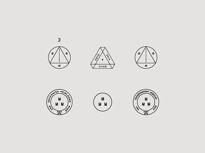 Maker's Marks sub marks icon wip identity typography branding