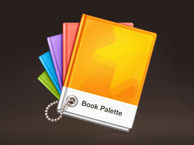 Book Palette book palette book books palette ibook ibook author colors icon jumsoft