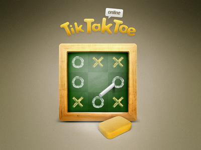 Tic Tac Toe Game - Dribbble Debut