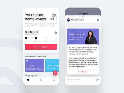 RedDoor 🚀 startup visualdesign uidesign mobile ios app ux ui