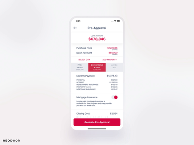 RedDoor: 2 years of product evolution uidesign mobile ios app ux ui