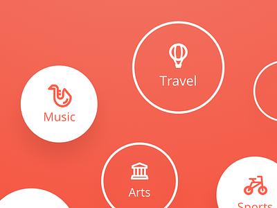 Meeting App Concept - Profile Settings schedule calendar event meeting mobile app uxdesign uidesign ux ui