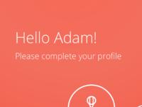 2  create profile   interests
