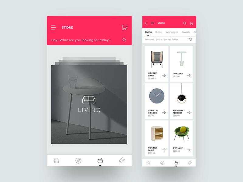 Moma   design store concept