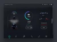 Self-driving Car UI Concept