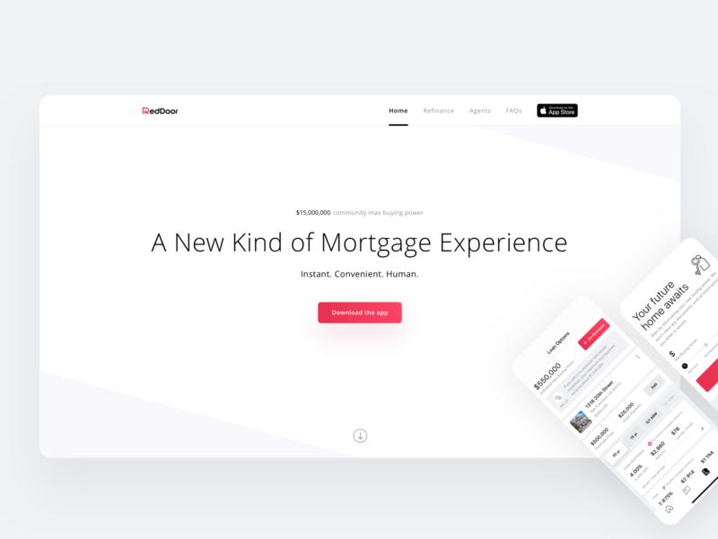 New RedDoor Website + UI Design Positions