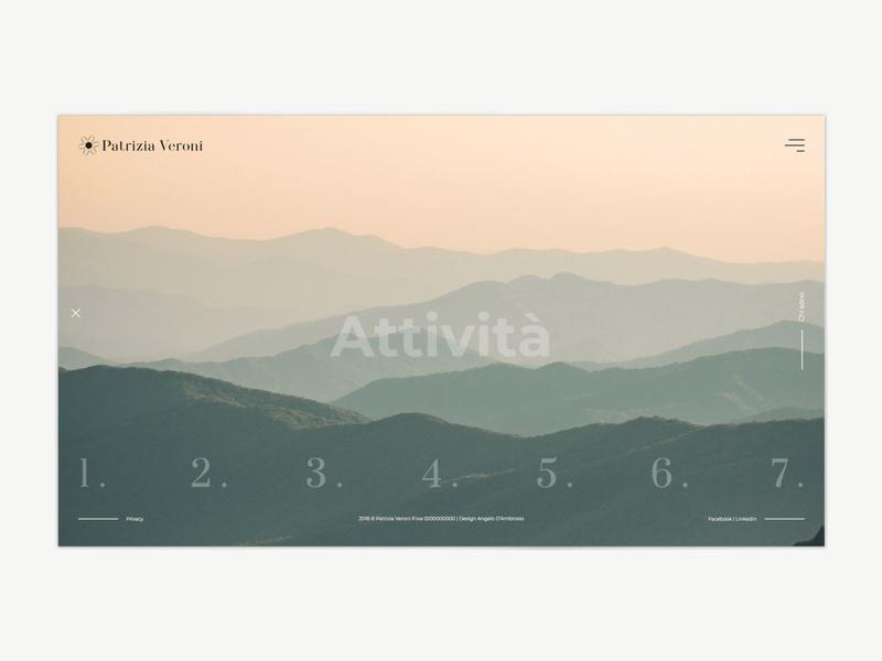 Page Attività - Patrizia Veroni attività webdeisgn counselor counseling freelancer minimal design graphic design