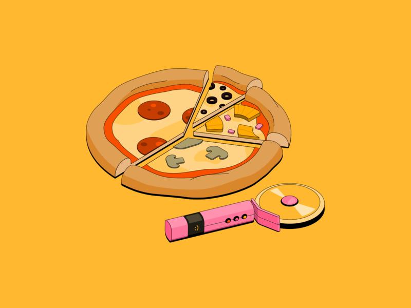 Robinhood // Orange orange robinhood learn credit card purse wallet computer cutter pizza