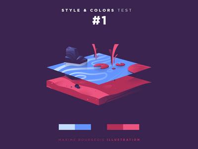 Style & Colors: Lake