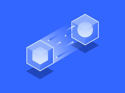 Universal Router for React.js code avocode react sphere cube illustration
