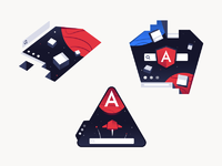 Angular universal sketches dribbble