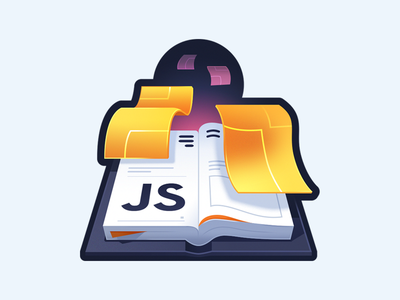 How to Write an Open Source JavaScript Library contribute release library publishing page paper book javascript logo course illustration code