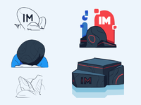 Immutable sketches dribbble