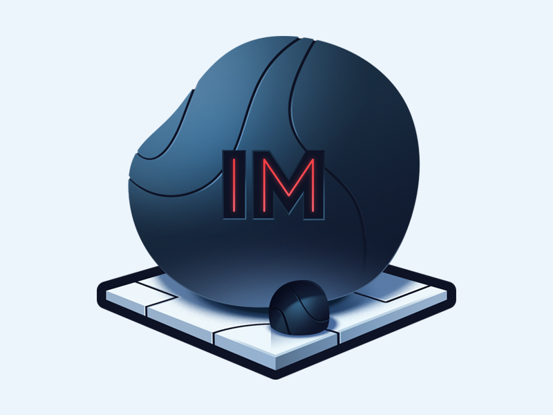 Learn how to use Immutable.js unchanging platform heavy boulder rock immutable logo course illustration code