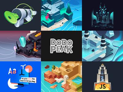 2019 logo branding design video game isometric illustration
