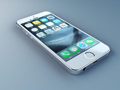 iphone 5s maya v-ray