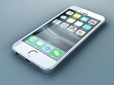 iphone 5s v-ray maya iphone5s