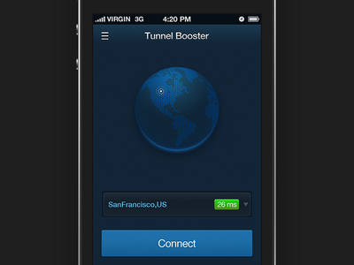 TunnelBooster app proxy earth server connect ssh