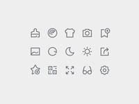 Menu icon for browser app