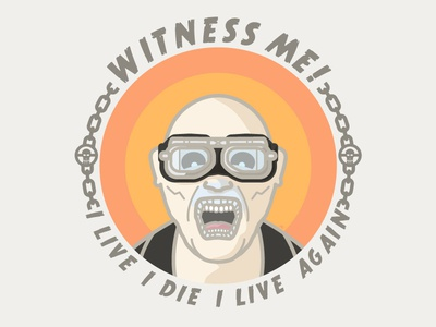 Witness Me! movie vector fury road mad max