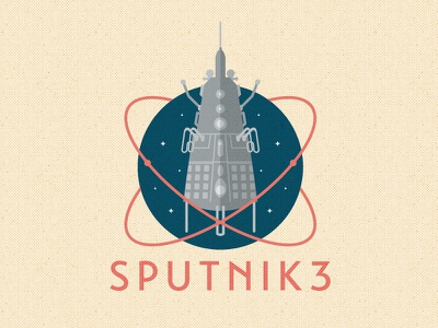 Sputnik 3 russia soviet union spacerace 1950s satellite space