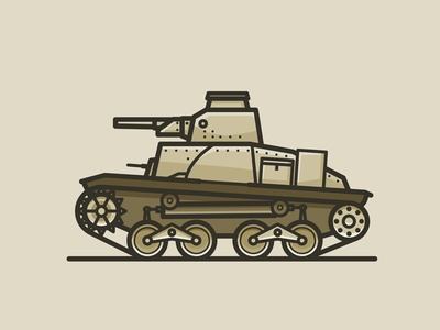 TANK TIME 2 vector pacific wwii japan 95 ha-go