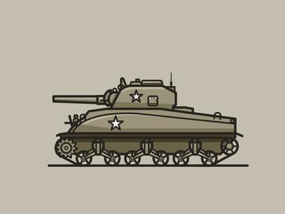 TANK TIME 4 tanks usa vector ww2