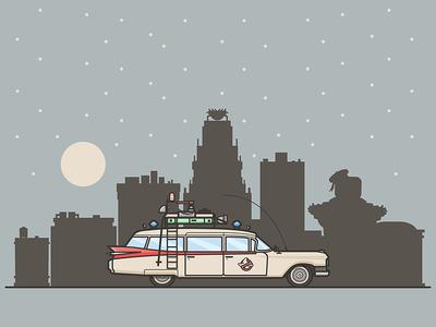 Ecto-1 ecto-1 car ghostbusters