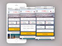 Otel.com Mobile Site - Search Home Page