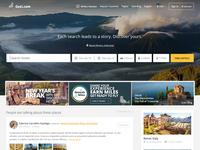 Gezi.com Home Page  - Redesign