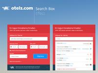 Hotel Search Box for otelz.com