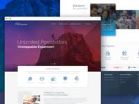 Metglobal Corporate Website Design