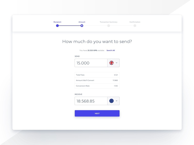 Money Transaction Pages