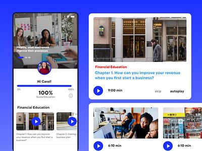 Courses online ios app app design uidesign ux ui user interface