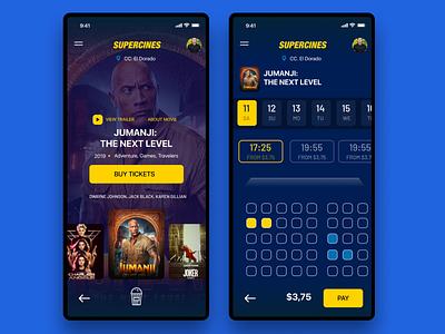 Concept App for buy tickets ui designer ui design user experience branding ux ui app uidesign design app concept user interface