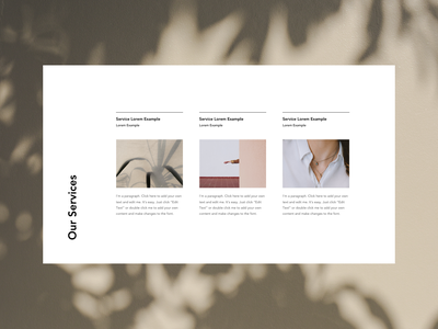 Web design layout lifestyle brand lifestyle branding design ui uidesign minimal color branding design