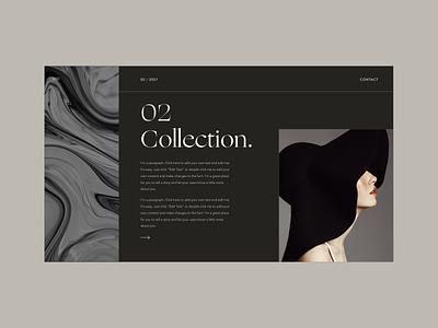 Web design layout section ecommerce webdesign layout branding uidesign minimal design
