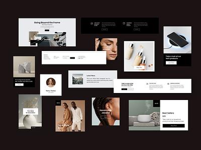 Editor X web layout presets responsive website design responsive website responsive desktop templatesdesign templates cards ui uxui design wix editorx webdesign layout branding design branding design